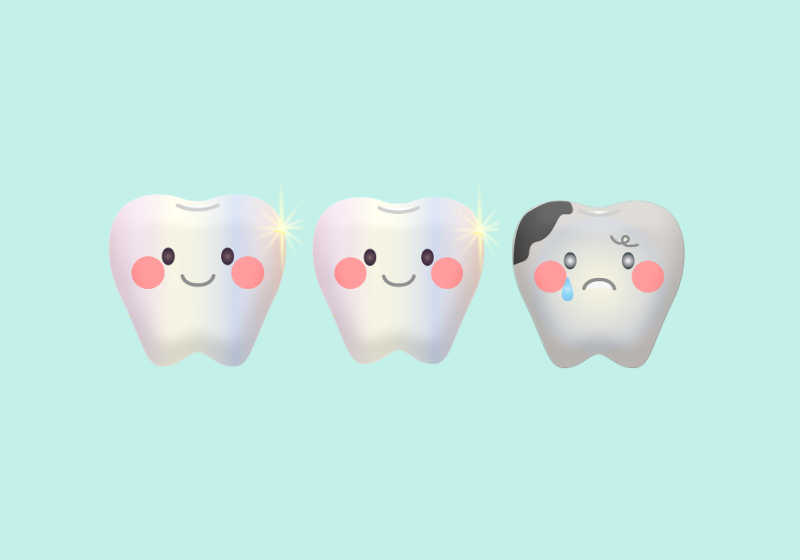 1 in 3 children experience tooth decay